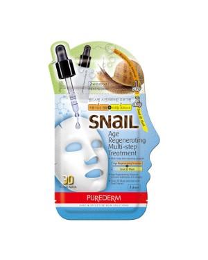 PUREDERM - Snail Age Regenerating Multi-step Treatment - 1pc
