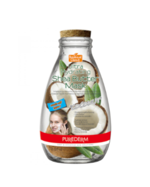 PUREDERM - Ultra Hydrating Shea Butter Mask - Coconut - 10pcs