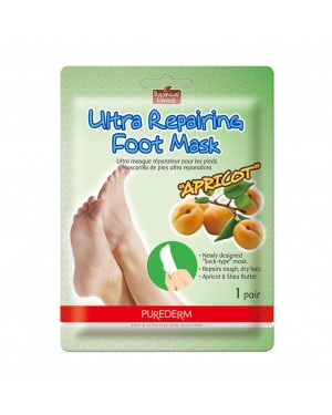 PUREDERM - Ultra Repairing Foot Mask - Apricot - 1pair