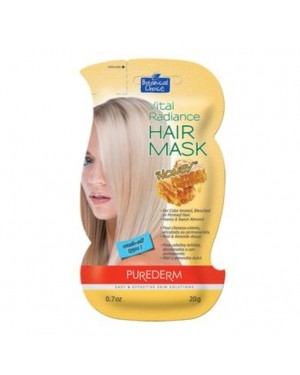 PUREDERM - Vital Radiance Hair Mask - Honey - 20g