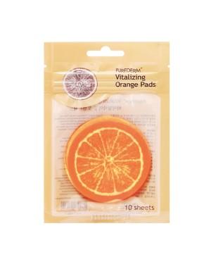 PUREDERM - Vitalizing Orange Pads (Zipper) - 10pcs