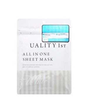 Quality First - All-in-one Sheet Mask (White) - 5pcs