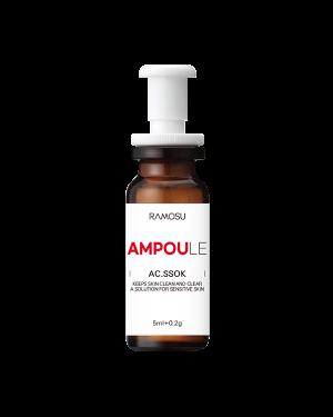 RAMOSU - AC.Ssok Ampoule (sans parfum) - 5ml+0.2g