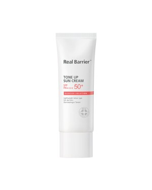 Real Barrier - Crème Solaire Tone Up SPF50 + PA ++++ - 40ml