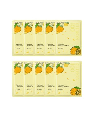 ReXRe - Masque au Citron Original Plantheory 10ea - 10pcs