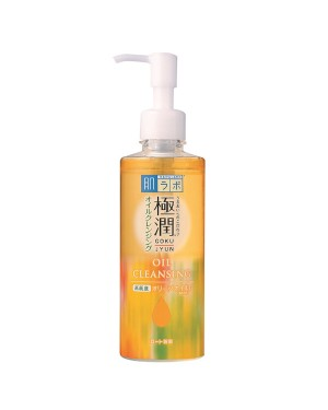 Rohto Mentholatum  - Hada Labo Gokujyun Oil Cleansing (Japan Version) - 200ml