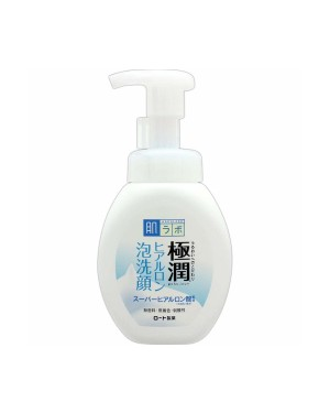 Rohto Mentholatum  - Hada Labo Gokujyun Super Hyaluronic Face Foam (Japan Version) - 160ml