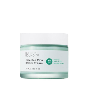 Roundaround - Green Tea Cica Barrier Cream - 70ml