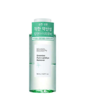 Roundaround - Green Tea Pure Lip & Eye Remover - 150ml