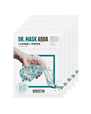 ROVECTIN - Skin Essentials Dr. Mask Aqua Pack - 5pcs
