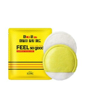 SCINIC - Feel So Good Peeling Pad - Gommage Scrub Care - 5pcs