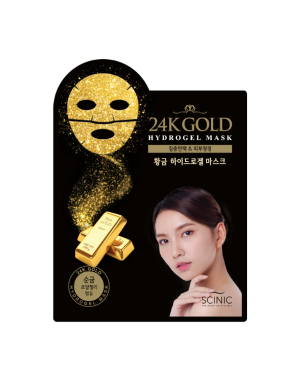 SCINIC - Gold Hydrogel Mask - 1pc