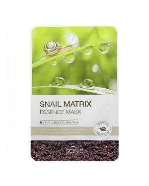 SCINIC - Snail Matrix Essence Mask - 1pc