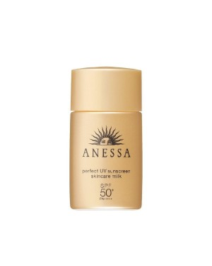 Shiseido - Anessa Perfect UV Sunscreen SPF50 - Skincare milk - 20ml