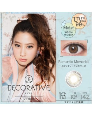 Shobi - Decorative Eyes 1 Day UV - No. 04 Romantic Memories - 10pcs