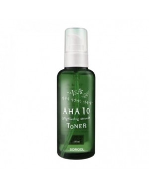 Sidmool - AHA 10 Brightening Smooth Toner - 150ml