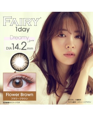 Sincere - Fairy 1 Day - Flower Brown - 12pcs