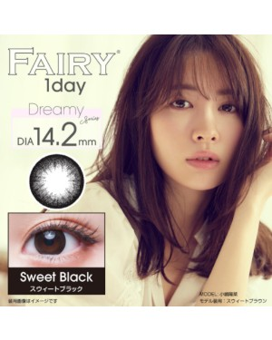 Sincere - Fairy 1 Day - Sweet Black - 12pcs