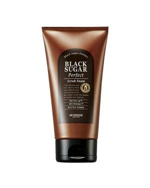 SKINFOOD - Black Sugar Perfect Scrub Foam - 180g