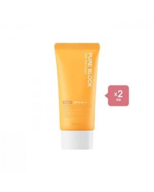A'PIEU Pure Block Natural Daily Sun Cream (2ea) Set