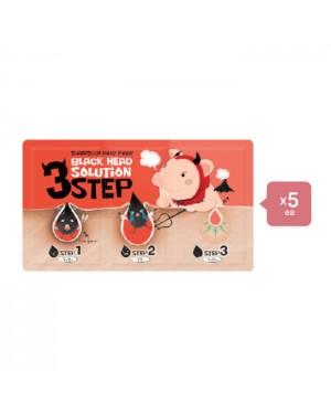 Elizavecca Black Head Solution 3 Step Kit (5ea) Set