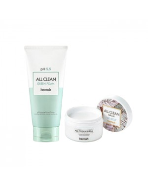 heimish Cleansing Set - Myrtle green