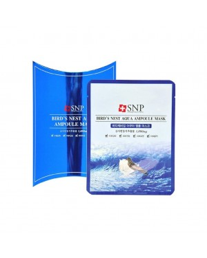 SNP - Bird's Nest Aqua Ampoule Mask