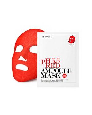 So Natural - Masque Ampoule Rouge PH 5.5 - 1pc