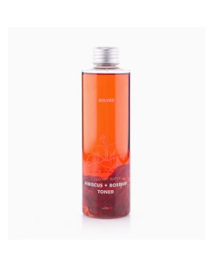SOLVED SKINCARE - Coconuts Water Hibiscus + Rosehip Toner - 200ml