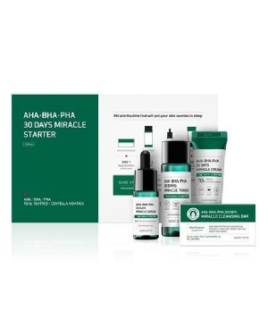 SOME BY MI - AHA. BHA. PHA 30 Days Miracle Kit de Démarrage