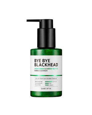 SOME BY MI - Bye Bye Blackhead 30days Miracle Green Tea Tox Bubble Cleanser - 120g
