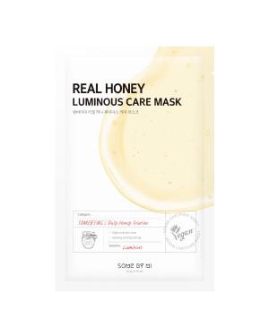 SOME BY MI - Real Masque de soin lumineux au miel - 1pc