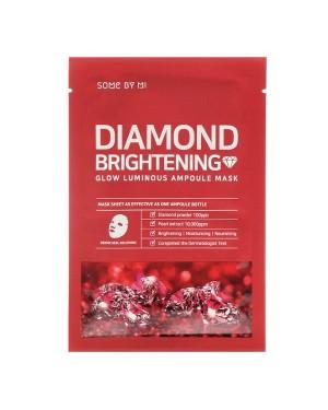 SOME BY MI - Red Diamond Brightening Glow Luminous Ampoule Mask (Micro - white) - 1pc