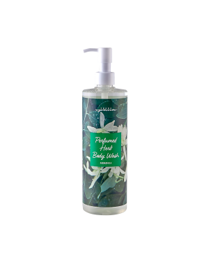 spana -  Parfümierte Kräuter-Körperwäsche - Moringa - 500ml