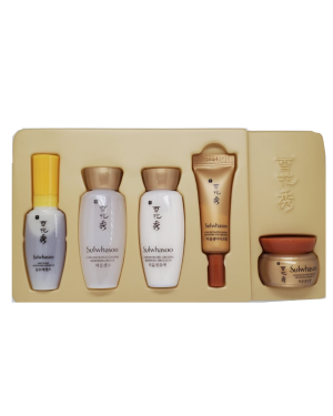 Sulwhasoo - Concentrated Ginseng Renewing Basic Kit - 5pcs