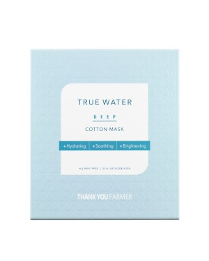 THANK YOU FARMER - True Water Deep Cotton Mask