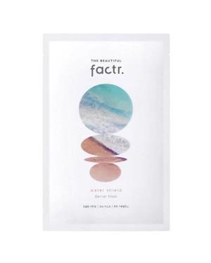 THE BEAUTIFUL factr. - Wasserschild-Barrieremaske - 1pc