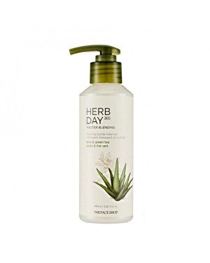 THE FACE SHOP - Herb Day 365 Master Blending Foaming Pump Cleanse