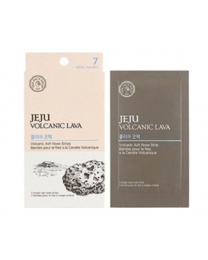 THE FACE SHOP - JEJU Volcanic Lava Ash Nose Strips