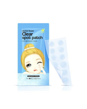 The ORCHID Skin - Orchid Flower Clear Spot Patch - 120patches