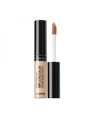 the SAEM - Cover Perfection Tip Concealer Peach Beige -6.5g