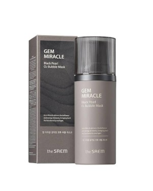 TheSaem - Gem Miracle Black Pearl O2 Bubble Mask - 105g