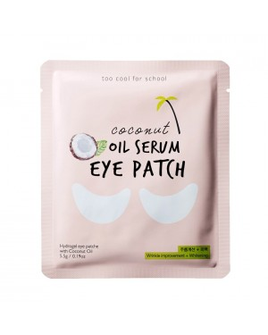 too cool for school - Coconut Oil Serum Eye Patch - 1pack (2pcs)