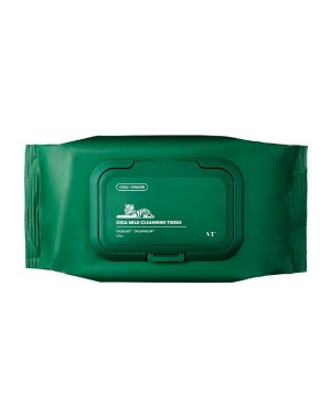 VT Cosmetics - Tissu Nettoyant Doux Cica - 50pcs