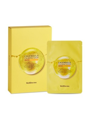 WELLDERMA - Calendula Calming Soon Masque - 10ml*1pc