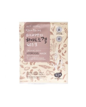 WHAMISA - Organic Seeds Hydrogel Mask - 3pcs