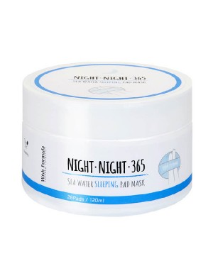 Wish Formula - Night Night 365 Sea Water Sleeping Pad Mask - 1pack (26pcs)