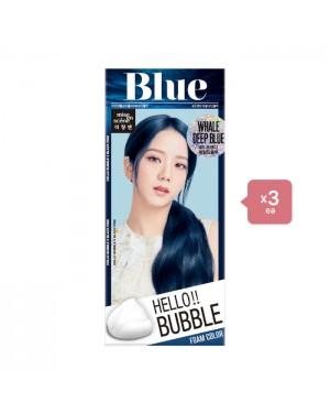 miseenscène Hello bubble - 4B Whale Deep Blue (3ea) Set