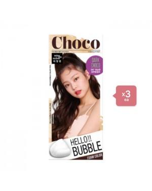 miseenscène Hello bubble  - 3NT Dark choco turn color (3ea) Set