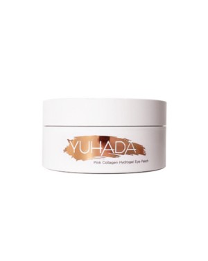 YUHADA - Patch pour les yeux en hydrogel au collagène rose - 90g(60sheets)
